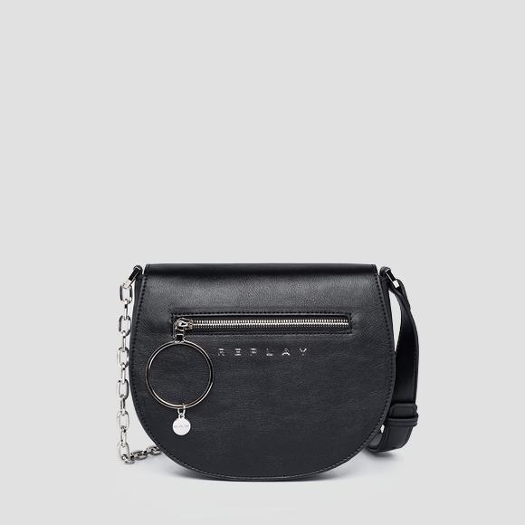 REPLAY rounded bag with shoulder strap - Replay FW3149_000_A0437_098_1