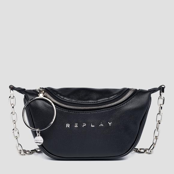 REPLAY waist bag with maxi charm - Replay FW3150_000_A0437_098_1