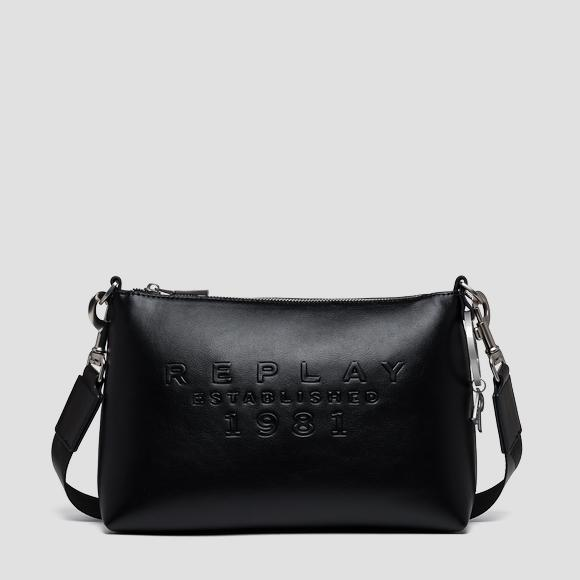 REPLAY ESTABLISHED 1981 solid-coloured bag - Replay FW3161_000_A0365B_098_1
