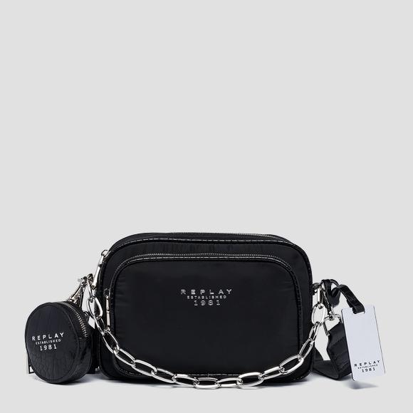 Recycled poly cross body bag - Replay FW3180_000_A0441_098_1