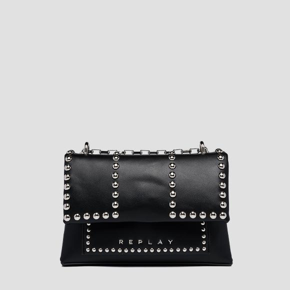 Crossbody bag with studs - Replay FW3188_000_A0157B_098_1