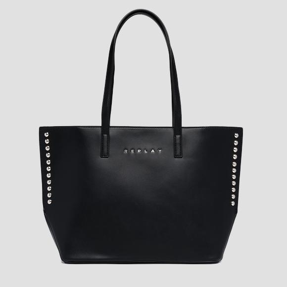 REPLAY shopper with studs - Replay FW3191_000_A0157B_098_1