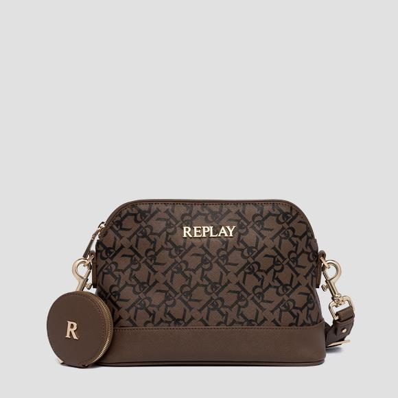 Crossbody bag with all-over REPLAY print - Replay FW3208_001_A0283A_110_1