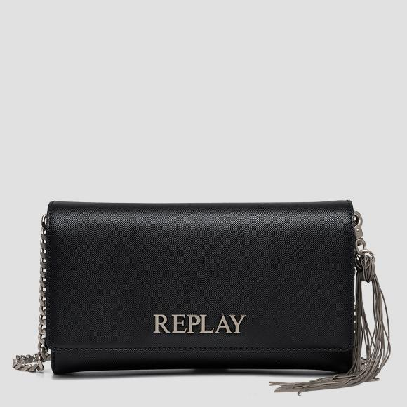REPLAY solid-coloured purse - Replay FW3216_000_A0283B_098_1