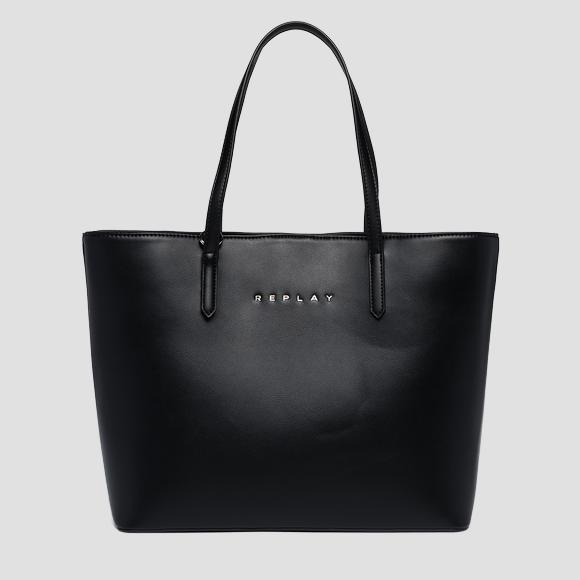 REPLAY shopper with pouch - Replay FW3219_000_A0157B_098_1