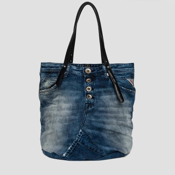 Recycled denim shoulder bag - Replay FW3637_005_A0181A_901_1