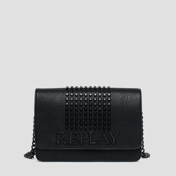 Eco-leather bag with studs - Replay FW3788_002_A0362_098_1