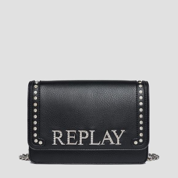 Shoulder bag with chain - Replay FW3788_006_A0132D_098_1