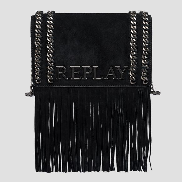 Shoulder bag with fringes - Replay FW3788_010_A3154_098_1