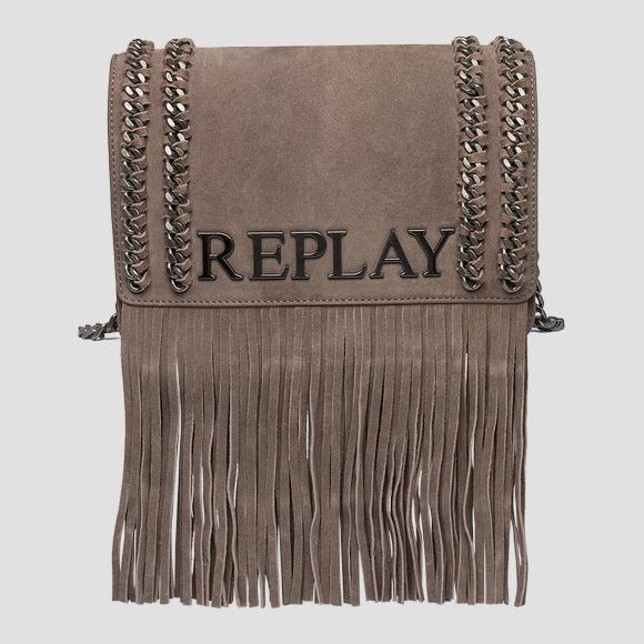 Shoulder bag with fringes - Replay FW3788_010_A3154_126_1
