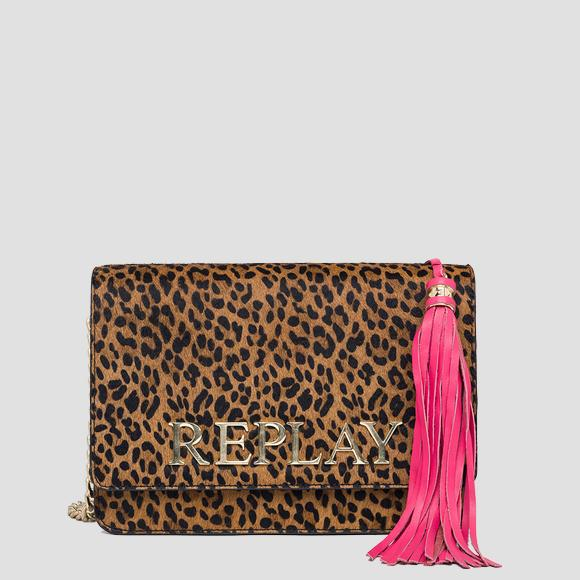 Shoulder bag leather and horseskin - Replay FW3788_011_A3173A_1265_1