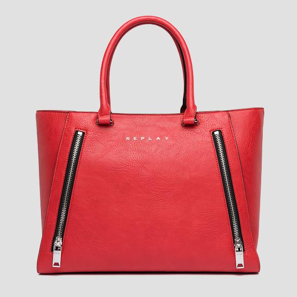 Shopper bag with zipper - Replay FW3798_000_A0362_260_1
