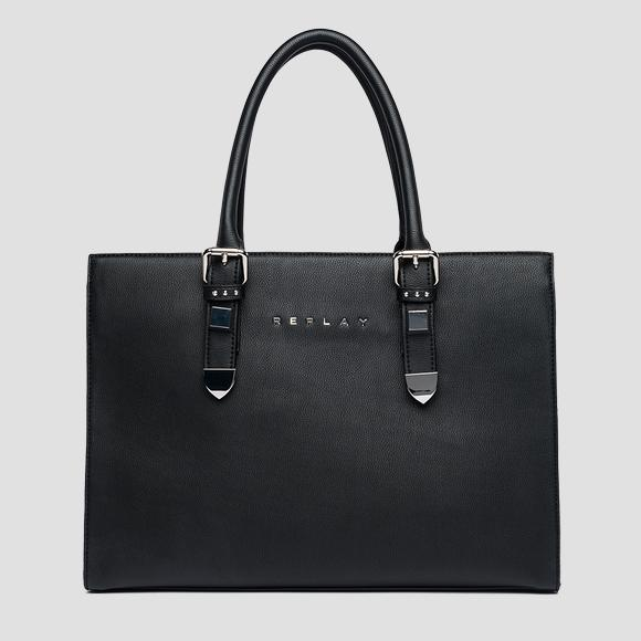 Shopper bag with double handle - Replay FW3807_000_A0363_098_1