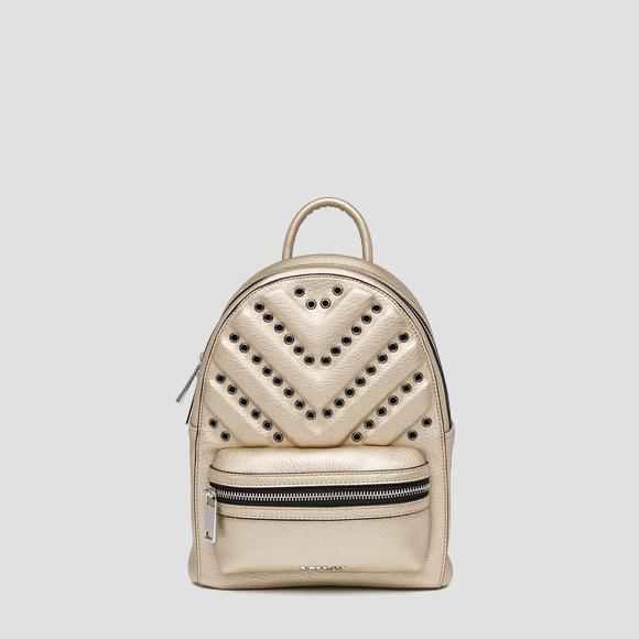 3D effect backpack with metal details - Replay FW3821_000_A0132D_168_1