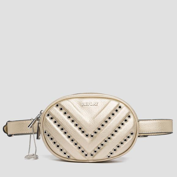 Waist bag with metal appliques - Replay FW3822_000_A0132D_168_1
