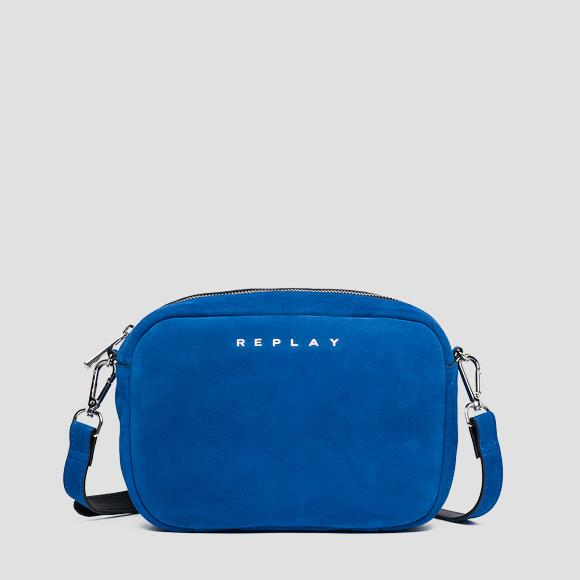 Shoulder bag in suede leather - Replay FW3829_000_A3054_517_1