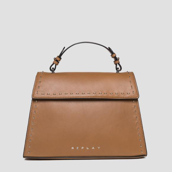 Trapeze-shaped leather bag - Replay FW3832_000_A3127C_045_1