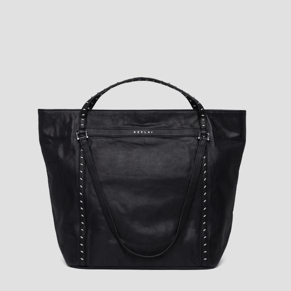 Shopper bag with studs - Replay FW3836_001_A3127C_098_1