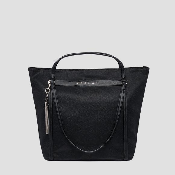 Replay shoulder bag in glitter fabric - Replay FW3836_002_A0738_302_1