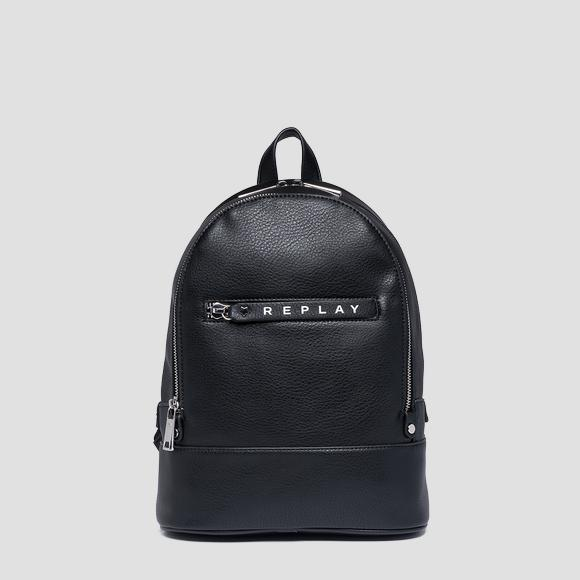Backpack with logoed zipper puller - Replay FW3837_000_A0132D_098_1
