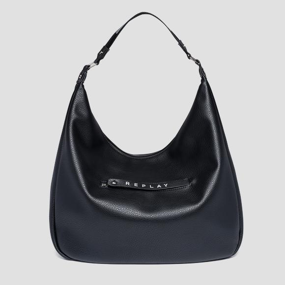 Shoulder bag with logoed zipper puller - Replay FW3838_000_A0132D_098_1