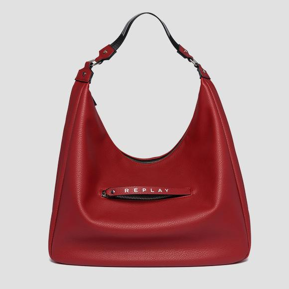 Shoulder bag with logoed zipper puller - Replay FW3838_000_A0132D_243_1