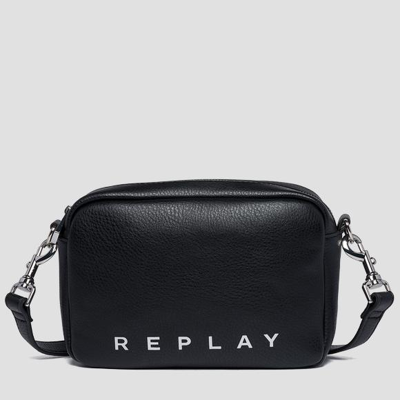Shoulder bag with logoed ribbon - Replay FW3847_000_A0132D_098_1