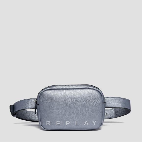 Waist bag with contrasting logo - Replay FW3848_000_A0132D_056_1