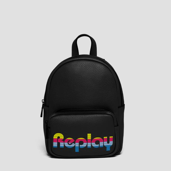 Backpack with contrasting logo - Replay FW3849_000_A0132D_098_1