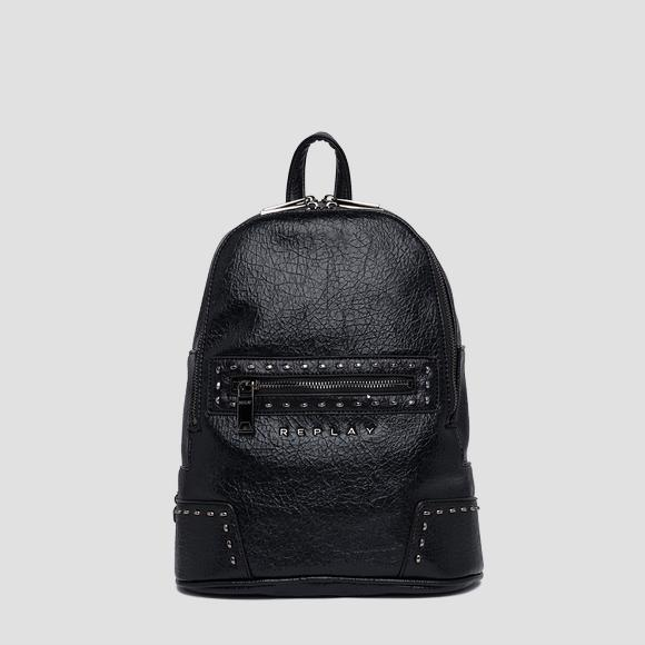 Backpack in crinkle eco-leather - Replay FW3852_000_A0316A_098_1