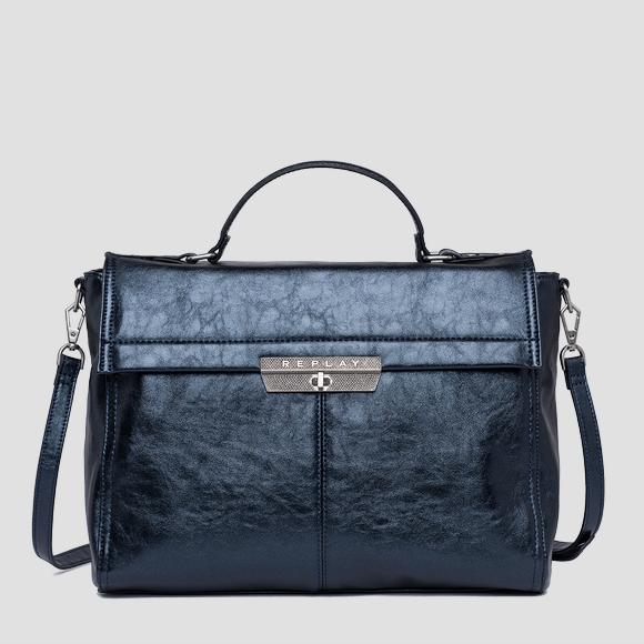 Handbag in laminated eco-leather - Replay FW3860_001_A0391_532_1