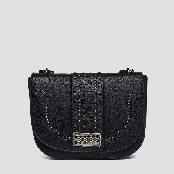 Shoulder strap with logoed plate - Replay FW3862_000_A0337A_098_1