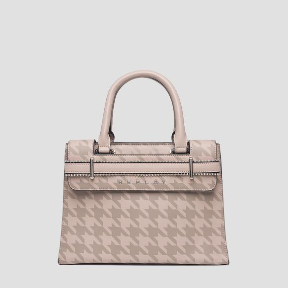Eco-leather bag with print - Replay FW3864_000_A0362A_049_1