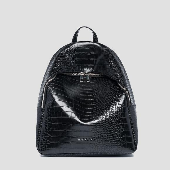 Soft backpack with zipper - Replay FW3891_000_A0292D_098_1
