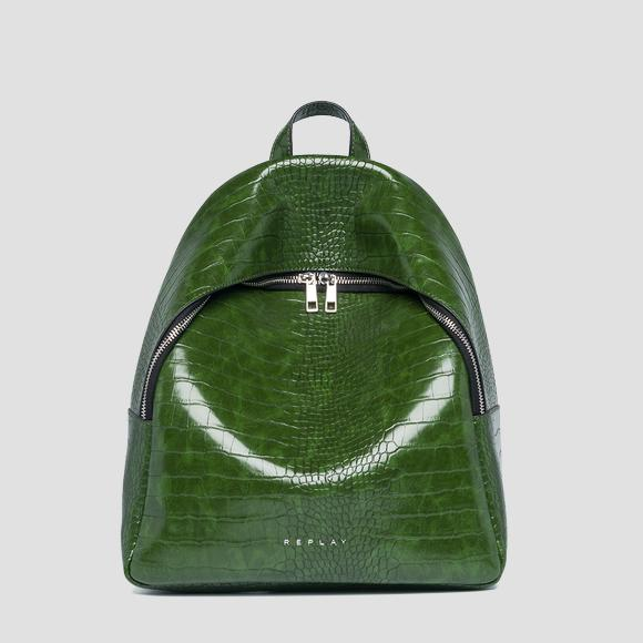 Soft backpack with zipper - Replay FW3891_000_A0292D_433_1