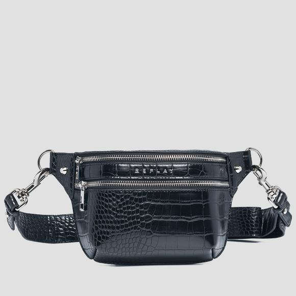 Belt bag with crocodile effect - Replay FW3892_000_A0292D_098_1