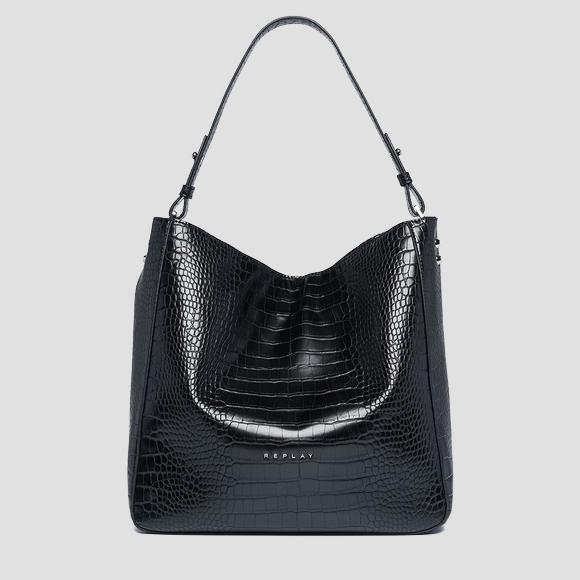 Shopper bag with strap - Replay FW3893_000_A0292D_098_1