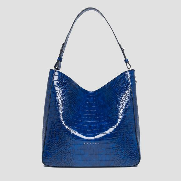 Shopper bag with strap - Replay FW3893_000_A0292D_512_1