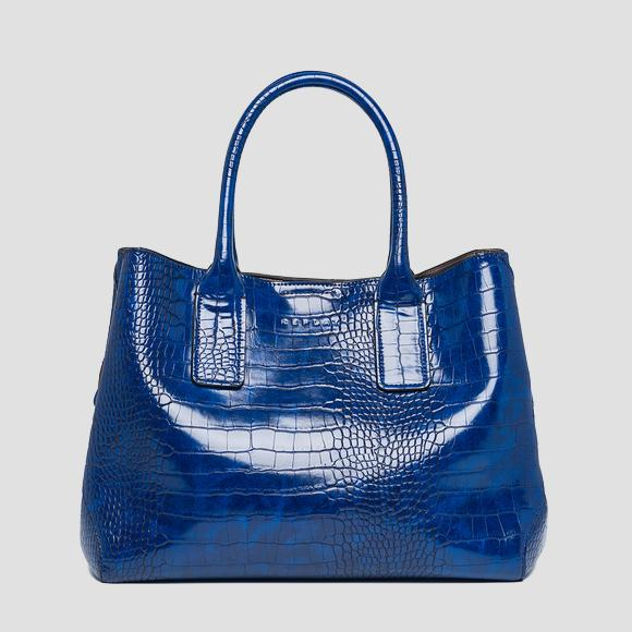 Handbag with crocodile effect - Replay FW3894_000_A0292D_512_1