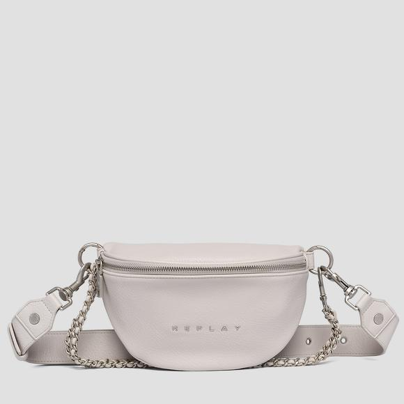 Waist bag in hammered eco-leather - Replay FW3897_000_A0132D_020_1