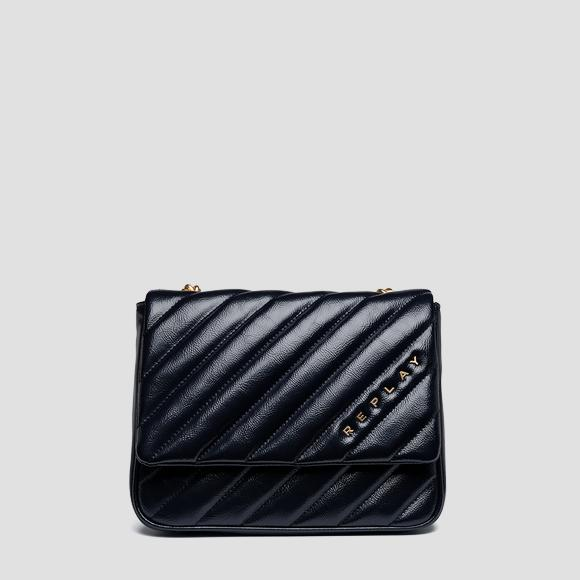 Shiny quilted shoulder bag - Replay FW3916_000_A0316B_518_1