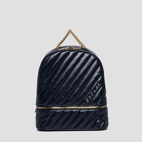 Quilted backpack with pocket - Replay FW3919_000_A0316B_518_1