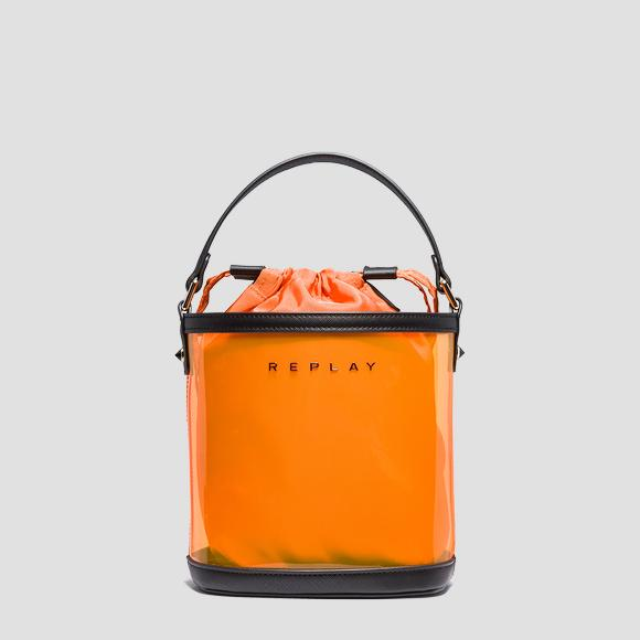 PU bucket bag with pouch - Replay FW3939_000_A0075_191_1