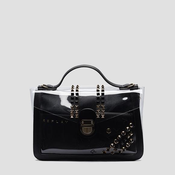 PU handbag with purse - Replay FW3941_000_A0075_297_1