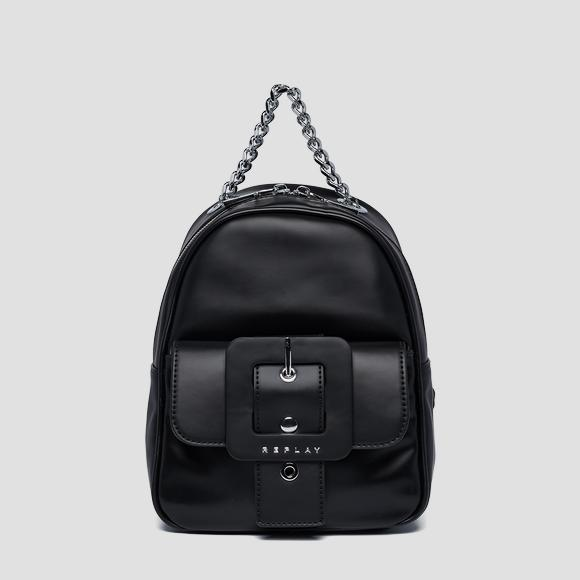 Backpack with pocket and maxi buckle - Replay FW3943_000_A0284_098_1