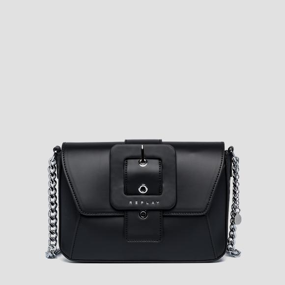 Matt shoulder bag with flap - Replay FW3944_000_A0284_098_1