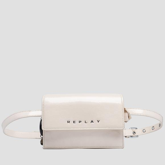 Waist bag with shiny effect - Replay FW3949_000_A0023_100_1
