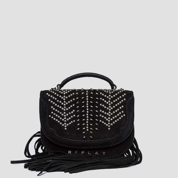 Suede shoulder bag - Replay FW3951_000_A3154_098_1