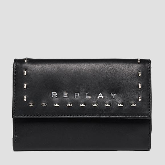 Wallet with studs - Replay FW5195_000_A3127_098_1