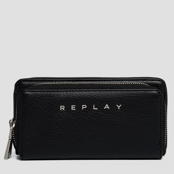 Gusset wallet with pocket - Replay FW5213_000_A0132D_098_1